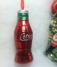 Coke Bottle Christmas Tree Ornament