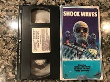 Shockwaves Vhs! Awesome 1975 Horror! See) Zombie Lake