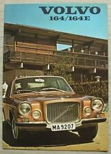 VOLVO 164 & 164E Car Sales Brochure 1971 #RSP/PV 29-71