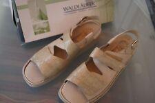 WALDLÄUFER Gera Damen Sommer Schuhe Comfort Sandale Klett Einlagen Gr.8,5 G 42,5