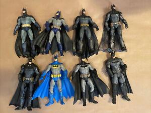 DC Batman Arkham Asylum/City/Origins/Knight Figure Lot Of 8 Batman Figures Lot#2