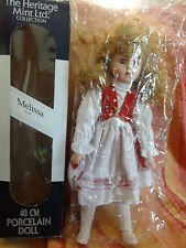 BAMBOLA MELISSA - The Heritage Mint Ltd Collection - Porcelain Doll - 1988