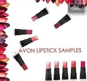 10X Avon Mini Lipstick Samples Different Shades Handbags/ Party Bag Fillers