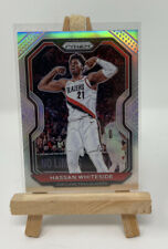 Hassan Whiteside 2020-21 Prizm Silver Prizm Card No. 158 Portland Trail Blazers
