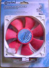 Ventilateur PC UC 12 cm x 12 cm x 2.5cm carctéristiques sur 2ème photo /E15