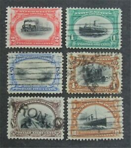 nystamps US Stamp # 294-299 Used $130   L30x1412