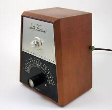 Electronic Metronome Seth Thomas Vintage Model E962-000 Maple Wood Case USA Made
