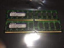2 ACTICA Critical Memory Solutions 2 M2GB DDR2-667 REG ECC ACT2GER72F8G667S