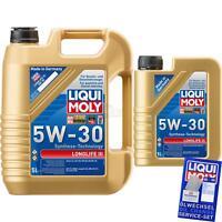 6 Liter Original Liqui Moly Longlife III 5W-30 Motoröl Engine Oil Motorenöl