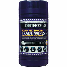 More details for dirteeze dirteeze rough & smooth degreaser wipes (tub-80)