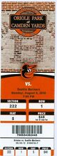 2012 Orioles vs Mariners Ticket: Nick Markakis homered & Mark Reynolds 3 hits
