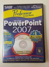 Professor Teaches Microsoft PowerPoint 2007 Training Suite,Computers,Windows7bd