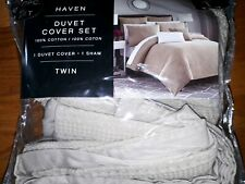 Haven Twin Duvet Cover Set