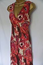 Fabulous Principles holiday/occasion/dance dress, easy wear 100% silk 16