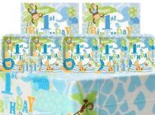 Art de la table de fête bleu animaux pour la maison