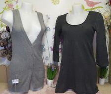 """Lot vêtements occasion femme... Gilet """" Pimkie """", Pull ... T : 38 / 40"""