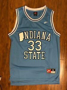 Men's  Indiana State #33 Larry Bird Jersey