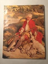 Vintage Magazine ANTIQUES August 1972 - Tapestries, Early PA Furniture