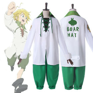 The Seven Deadly Sins Meliodas Cosplay Costume Complete Outfit