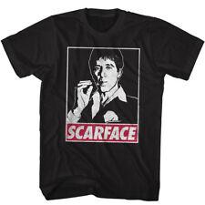 Scarface OBEY Tony Montana Men's T Shirt Pacino Gangster Tuxedo Fairey Pop Art