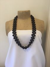 Ladies,Fashion,Brown,Wooden bead,Beaded,Mid length,Necklace