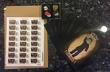 LIVING DEAD DOLLS RESURRECTION X POSTCARD COLLECTOR SET WITH PINS AND STAMPS