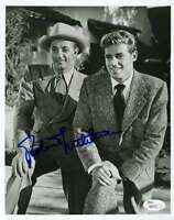 Robert Mitchum Jsa Coa Hand Signed 8x10 Photo Authenticated Autograph
