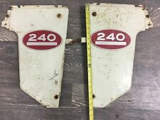 NOS International 240 Antique Tractor Front Side Panels