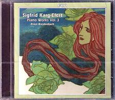 Sigfrid KARG-ELERT Piano Works Vol.3 Aphorismen Dekameron CPO CD Breidenbach BEU