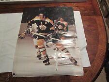 """Bobby Orr / Phil Esposito , Poster , Boston Bruins , 1973 , Color , 18 X 24"""""""