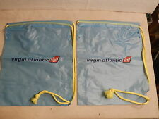 VINTAGE COLLECTIBLE VIRGIN ATLANTIC TOILETRY BAGs (Two Bags)