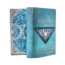 Fathom Playing Cards - Collectible Magic/ Cardistry Deck from Ellusionist