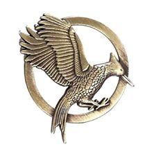 The Hunger Games Mockingjay Pin Brooch Movie Film Fire Bird Badge Bronze Gift UK