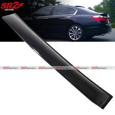 Rear Roof Window Shade Guard Visor Spoiler Wing fits 13-17 Honda Accord Sedan