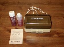Jewelry Cleaner Vintage Connoisseurs La Sonic Plus Twin Tank