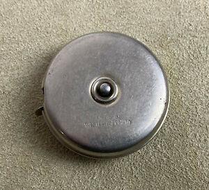 vintage WEST GERMAN RETRACTABLE STEEL TAPE MEASURE 6'