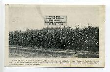 Norwell MA Mass Corn Manure Ad, See farmer?  William Wilder, trolley tracks 1912