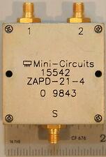 Mini-Circuits ZAPD-21-4 Coaxial Power Splitter/Combiner 2-Way 0º 50Ω 500-2000 MH