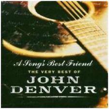 A SONGS BEST FRIEND - THE VERY BEST OF JOHN DENVER - 828766527421 - CD ALBUM