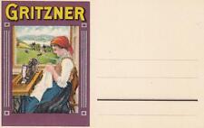 C2814) GRITZNER, MACCHINE DA CUCIRE.