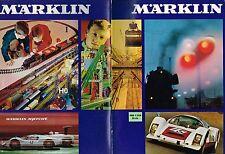 1969 E MARKLIN Catalog: Toy Trains,SPRINT Slot Cars,HO Layouts,Construction Sets