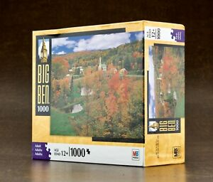 Sealed Big Ben 1000 Piece Puzzle Fall Foliage South Woodbury Vt