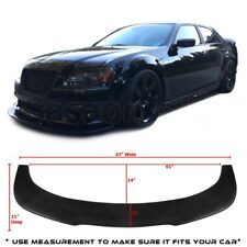 Universal Front Bumper Lip Flat Splitter Plate Under Panel Diffuser BMW BENZ 67""