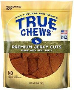 True Chews Premium Jerky Cuts Made with Real Duck, 12 ounce