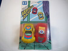 """""""WACKY WACKY"""" RACING CARS WALL CRAWLERS-GREAT GIFT FOR ALL OCCASIONS-RARE!"""