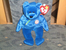 ty Beanie Babie Baby  Clubby der blaue Official Clubbär