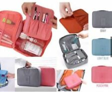 New Travelus Toiletry Cosmetic Make Up Bag Makeup Organizer-Melon Red