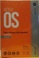 Pruvit Keto OS 2.1 Orange Dream ketone 30 Packet Box  CAFFEINE FREE ketosis