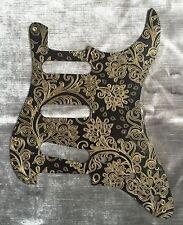 Custom Floral Paisley Bakelite Pickguard fits Fender® Stratocaster® Strat® Gold