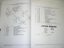 John Deere 45 Loader Parts Catalog Manual